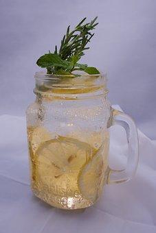 Lemon Soda, Drink, Spar, Cocktail, Lemon, Soda, Juice