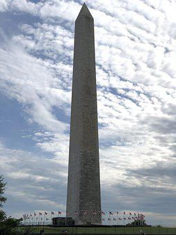 Washington Monument, Landmark, Washington, Construction