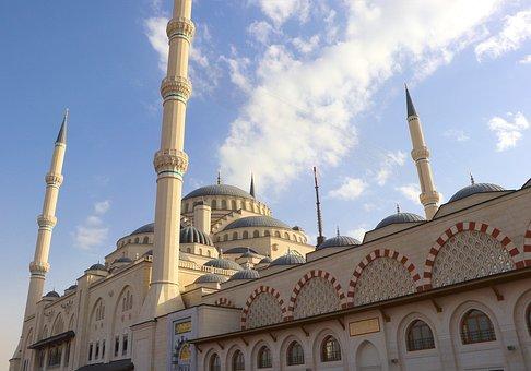 Camlica, Cami, Dome, Minaret, Jewish, Istanbul, Turkey