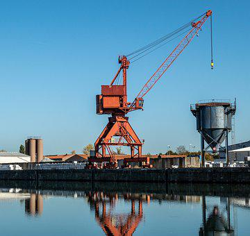 Europe Channel, Crane, Harbour Crane, Harbour Cranes