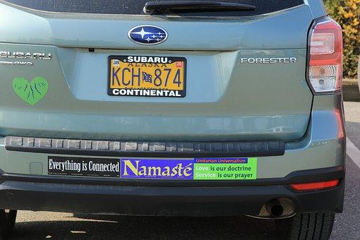 Car, Stickers, Subaru, Forester