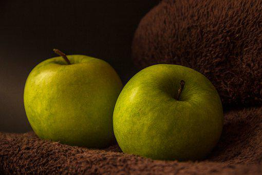 Apple, Green, Fruit, Still Life, Harvest, Healthy