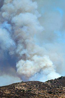 Wildfire, Smoke, Heat, Hot, Fire, Danger, Usa, Hills