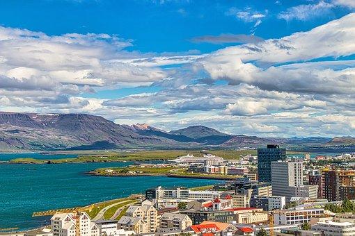 Iceland, City, Reykjavik, Architecture, Island, Street