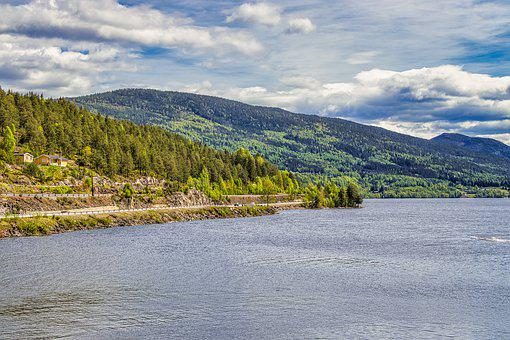 Norway, Fjord, Water, Landscape, Nature, Sea, Sky