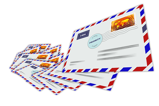 Letters, Email, Mail, Write, Contact, Glut, Spam
