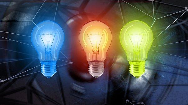 Light Bulb, Energy, Current
