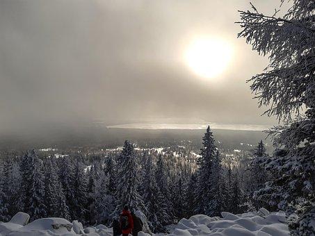 Mountain, Zyuratkul, Landscape, Clouds, Sky, Nature