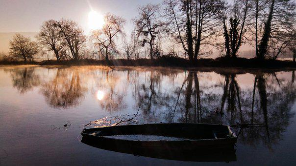 Boat, River, Water, Onion, Franche-comté, Haute-saône