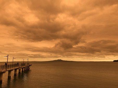 Bushfire Smoke, Orange Sky, Smoke From Australia