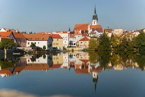 Jindřichův Hradec, Czech Republic, Southern, Pond