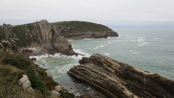 Landscape, Sea, Rocky, Nature, Ocean