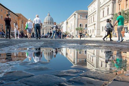 Rome, Italy, City, Tourism, Vatican, San Pietro