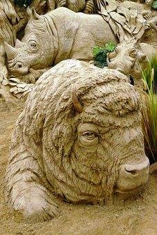 Sand Sculpture, Sand, Sculpture, Garderen, Netherlands