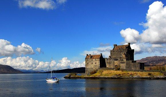 Castle, Scottish Castle, Scotland, Landmark, Historic