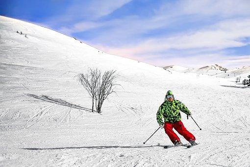 Ski, Winter, Snow, Skier, Landscape, Sport, Mountain