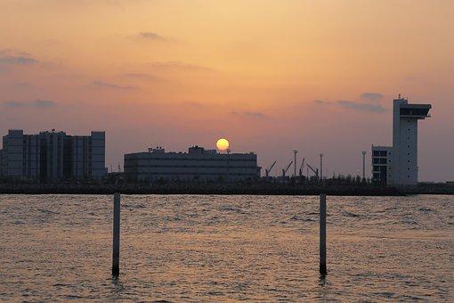 Sun Set, Sun, Sunset, Sky, Sunrise, Nature, Morning