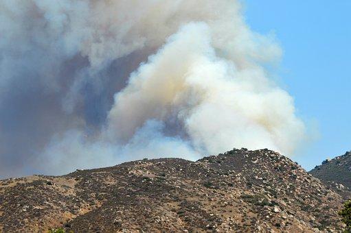 Wildfire, Smoke, Heat, Burning, Hot, Fire, Danger