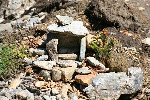 Stones, Stone House, Mountains, Limestone, Granite