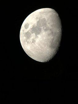 Moon, Iphone, Telescope, Planet, Technology, Research