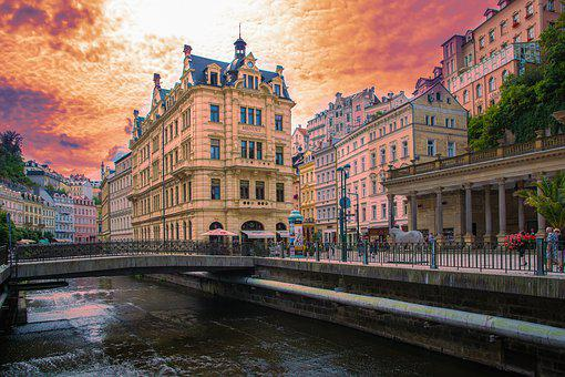 Czech Republic, Travel, Karlovy Vary, City, Tourism