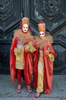 Venice, Venice Carnival, Venice Mask, Italy, Gloves