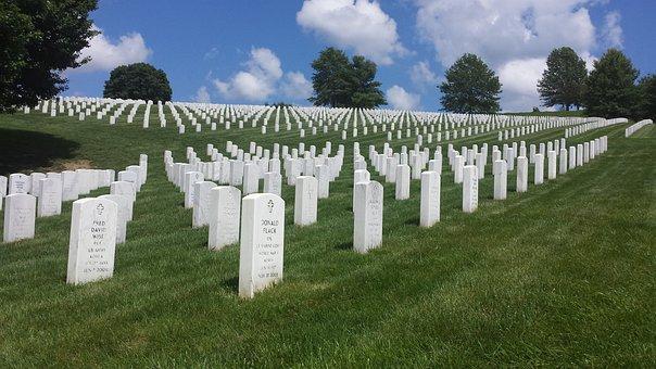 Grave, Memorial, Veteran, Funeral, Gravestone