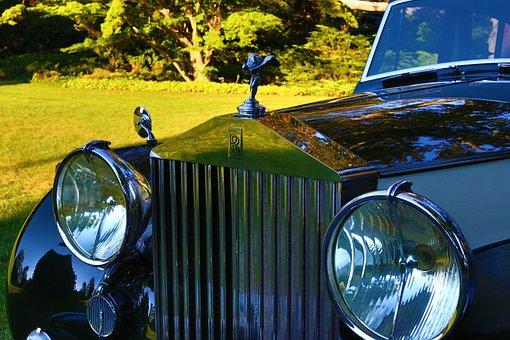 Rolls Royce, Vintage Car, Vintage