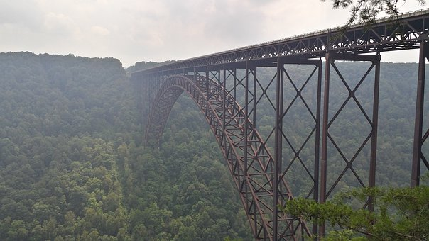 West Virginia, River, New River Gorge, Valley