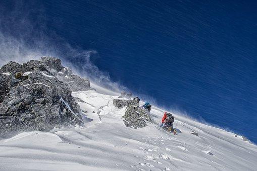 Mountain Climbing, Winter Mountain