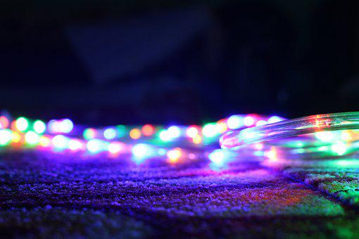 Abstract, Led Lights, Colorful, Lights, Color