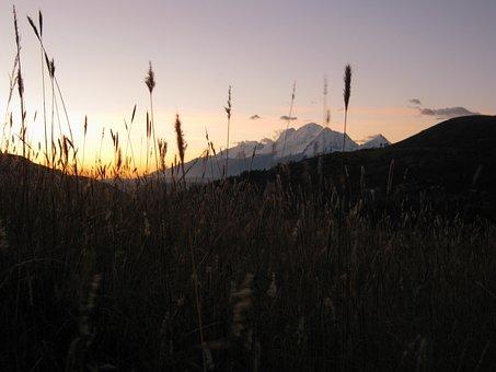 Sunset, Andean, Andes, Peru, Peruvian, Tourist