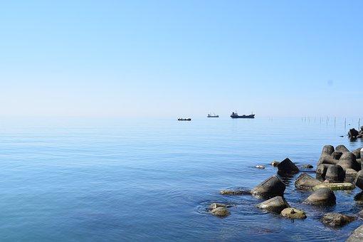 Barrier, Beach, Beautiful, Black Sea, Breakwater