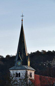 Steeple, Church, St, Bartholomew, Dieter Hausen