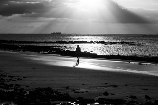 Beach, Mar, Ocean, Landscape, Water