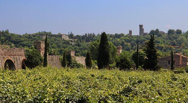 Valeggio Sul Mincio, Borghetto, Veneto, Middle Ages