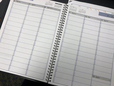 Planner, Calendar, Schedule, Planning