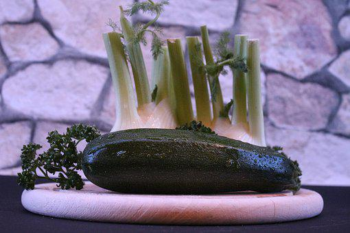 Zucchini, Vegetables, Food, Eat
