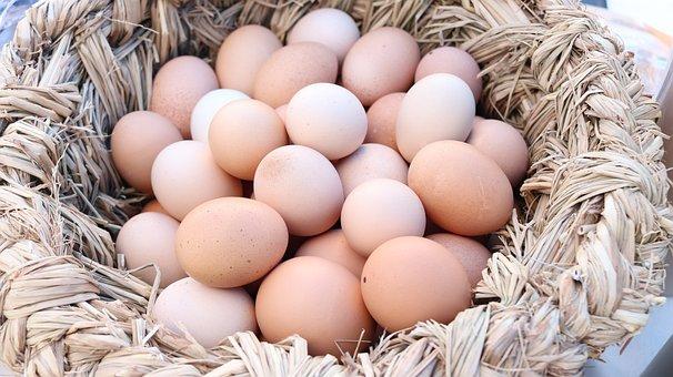 Egg, Eggs, Egg Basket, Food