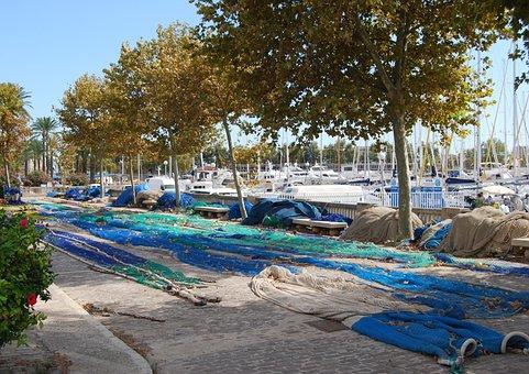 Fishing Nets, Mending, Mediterranean