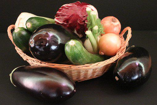 Eggplant, Zucchini, Eat, Healthy, Food, Nutrition