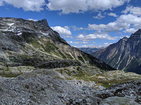 Glacier National Park, Campsite, Canada, Hermit Trail