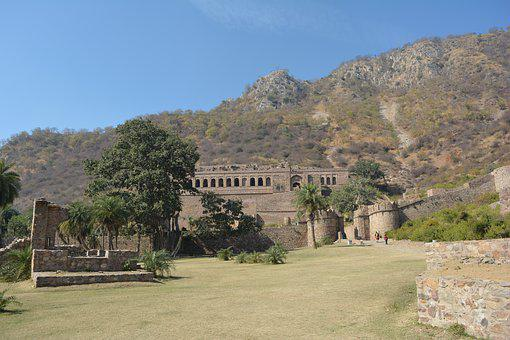 Bhangadh, Fort, Haunted, Castle, Scary