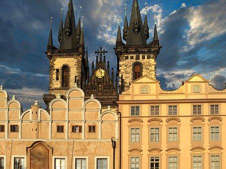 Czech Republic, Prague, Architecture, Historic Center