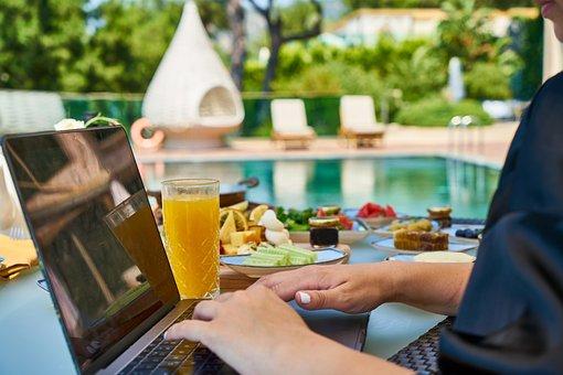 Work, Holiday, Laptop, The Work, Break