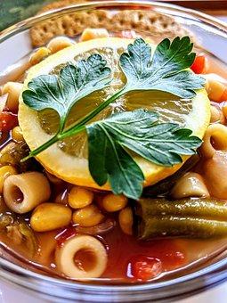 Soup, Vegetable Soup, Minestrone Soup