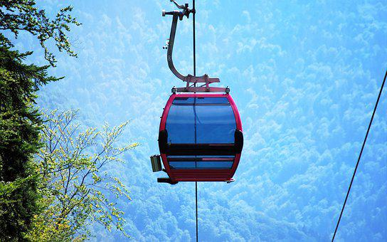 The Gondola Ski Lift, Cable, Mountain