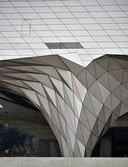 Museum Of Confluences, Lyon France, Architecture