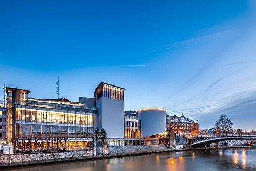 Delta, Namur, Space Provincial Cultural, Architecture