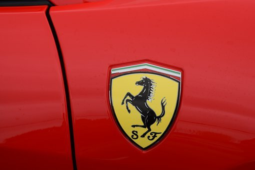 Ferrari, Red, Emblem, Vehicle, Noble, Speed